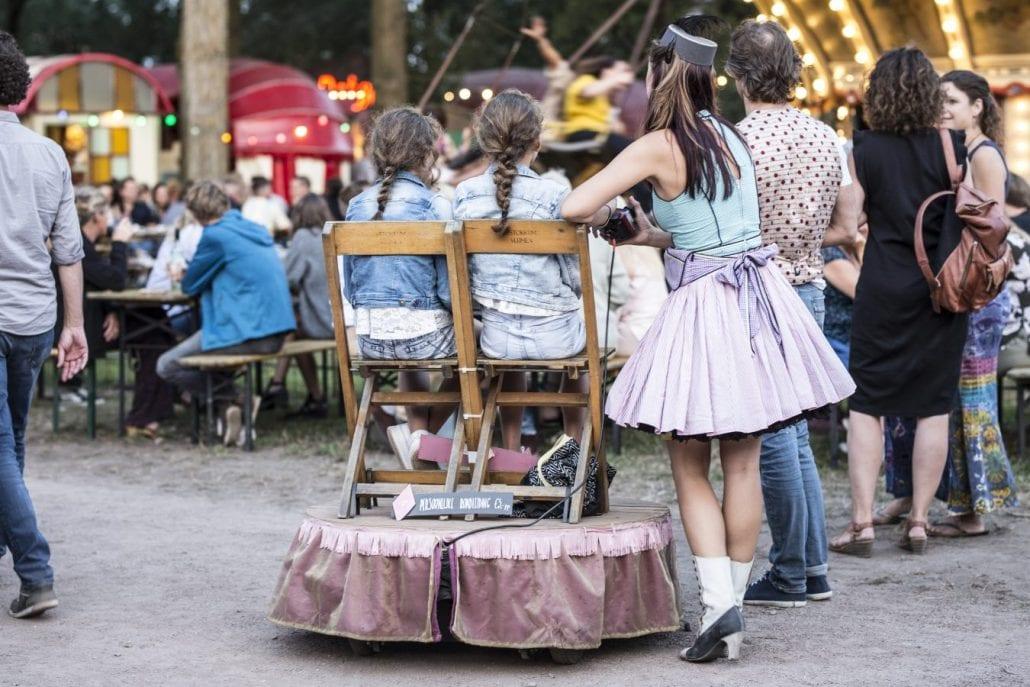 Kinder parade Amsterdam