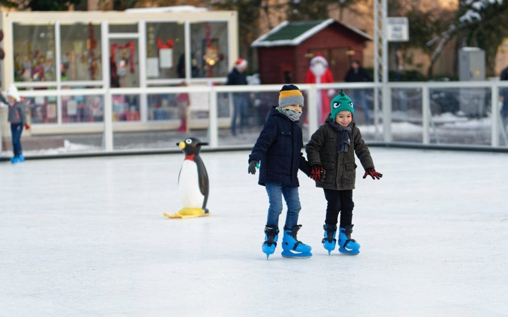 Here you can find a list were to ice skate this season for young and old.